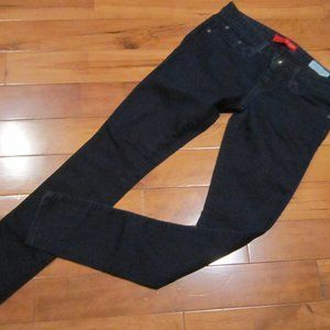 guess low rise jeggings size 27 deep indigo
